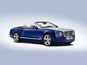 Pictures Bentley Blue Cabriolet Luxurious 2014 Grand Convertible Cars