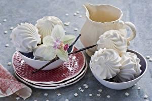 Bilder Süßware Zefir Kanne