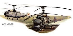 Bilder Hubschrauber Gezeichnet  Luftfahrt