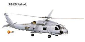Hintergrundbilder Hubschrauber Gezeichnet SH-60B Seahawk Luftfahrt