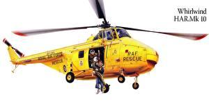 Fotos Hubschrauber Gezeichnet Whirlwind HAR.Mk 10 Luftfahrt