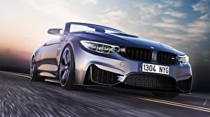 Papel de Parede Desktop BMW Estradas Farol dianteiro Carros