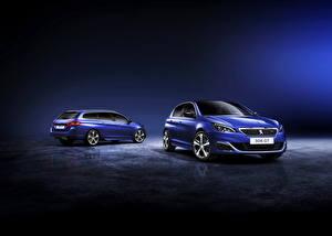 Images Peugeot 2 Light Blue Metallic 2014 308 GT SW automobile