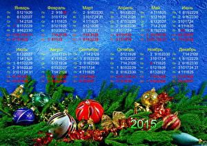 Fotos Kalender Ast Kugeln 2015