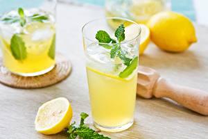 Wallpapers Drinks Juice Lemons Lemonade Ice
