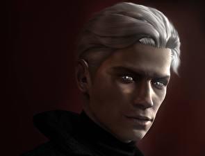 Papel de Parede Desktop Devil May Cry Dante Homem 3D_Gráfica