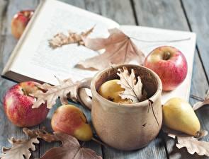 Images Apples Pears Leaf