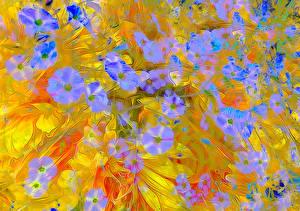 Bilder 3D-Grafik Blumen