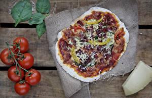 Fotos Pizza Tomate Lebensmittel