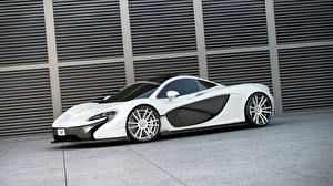 Picture McLaren Tuning White 2014 P1 (Wheelsandmore) Cars