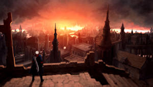 Papel de Parede Desktop Devil May Cry Devil May Cry 4 Dante