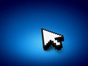 Pictures Blue cursor