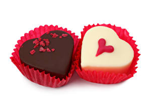 Photo Confectionery Candy Chocolate Two Food