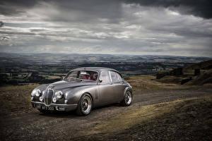 Hintergrundbilder Jaguar Tuning Graue 2014 Mark 2 b (Ian Callum) Autos