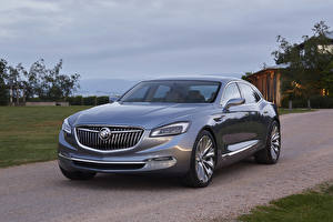 Fotos Buick Luxus Grau Metallisch 2015 Avenir Autos