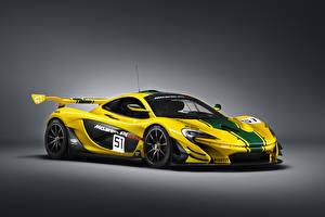 Sfondi desktop McLaren Tuning Giallo 2015 P1 GTR automobile