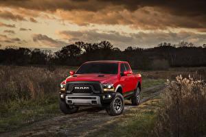 Images Dodge Tuning Red Metallic 2015 Ram 1500 Rebel Cars