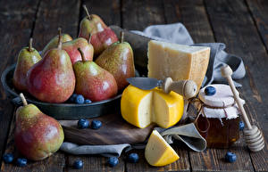 Images Fruit Pears Cheese Honey Blueberries