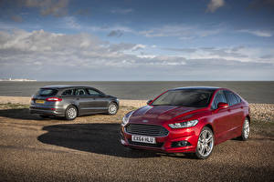 Wallpaper Ford 2 2015 Mondeo SW auto