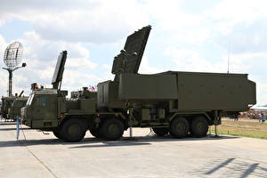 Wallpapers Military vehicle Missile launchers Radar station 55ZH6ME military