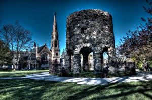 Bilder Vereinigte Staaten HDRI Newport Städte