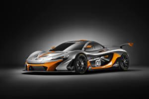 Sfondi desktop McLaren Tuning Grigia 2014 P1 GTR macchine