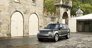 Bilder Land Rover Grau 2015 Range Rover SV Autos