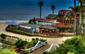 Fotos Vereinigte Staaten Haus Kalifornien HDR Newport Beach Städte