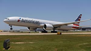 Hintergrundbilder Flugzeuge Verkehrsflugzeug Boeing Boeing, 777