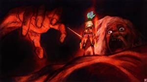 Tapety na pulpit Atak Tytanów Wojownicy Eren Yeager Anime