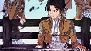 Wallpapers Attack on Titan Teenage guy Levi Ackerman Anime