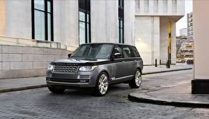 Bilder Land Rover Graues 2015 Range Rover SV auto