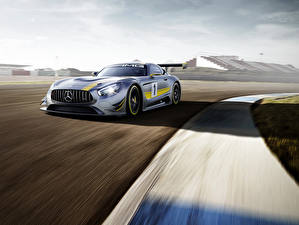 Pictures Mercedes-Benz Tuning Silver color 2015 GT3 AMG automobile