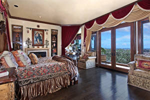 Pictures Interior Design Bedroom Bed Curtains