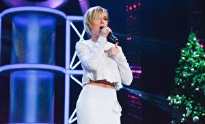 Bakgrunnsbilder Polina Gagarina Blond jente Unge_kvinner Musikk