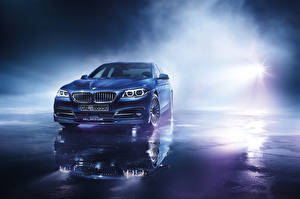 Wallpaper BMW Rays of light Blue Front Alpina, B6, Bi-Turbo, Coupe, Edition 50, F13 auto