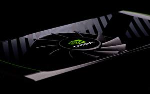 Image Closeup Nvidia GeForce Black