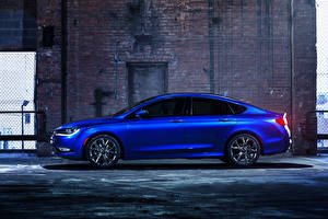 Pictures Chrysler Side Metallic Blue 2015 200 S auto