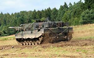 Images Tank Leopard 2 Mud Leopard 2 A6