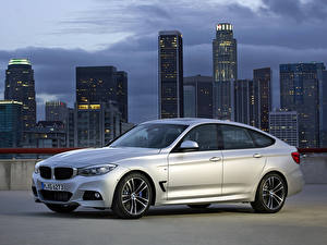 Image Skyscrapers BMW Side 335i Gran Turismo M Sports Package auto Cities