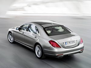 Picture Mercedes-Benz Headlights Silver color Hybrid vehicle S 400 Hybrid Cars