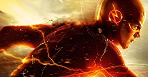 Picture Heroes comics The Flash 2014 TV series The Flash hero Barry Allen Movies Fantasy