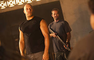 Pictures The Fast and the Furious Vin Diesel Paul Walker Men Shotgun Two Dominic Toretto, Brian O'Conner Movies Celebrities