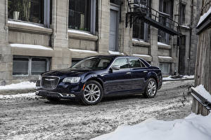 Picture Chrysler Side Snow 2015 Platinum 300C AWD automobile