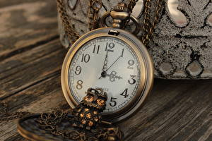 Pictures Clock Pocket watch Retro Closeup