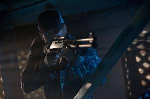 Wallpaper Jason Statham Men Shotgun Baseball cap Homefront, Phil Broker film Celebrities