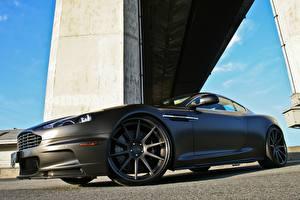 Bilder Aston Martin Graue DBS auto