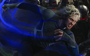 Pictures Avengers: Age of Ultron Aaron Taylor-Johnson, Pietro Maximoff, Quicksilver Celebrities