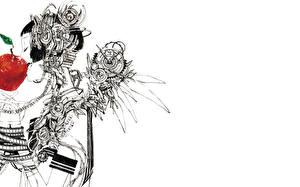 Bakgrunnsbilder Epler Malte Steampunk Vinger Fantasy Unge_kvinner
