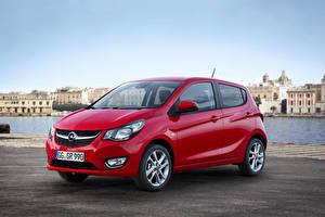 Bilder Opel Metallisch Rot 2015 Karl auto